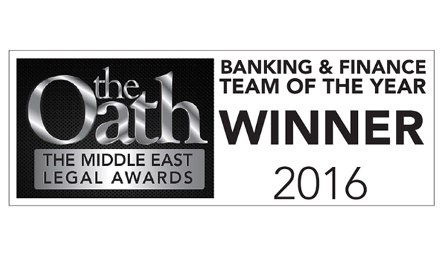 Eversheds wins Banking and Finance Team of the Year