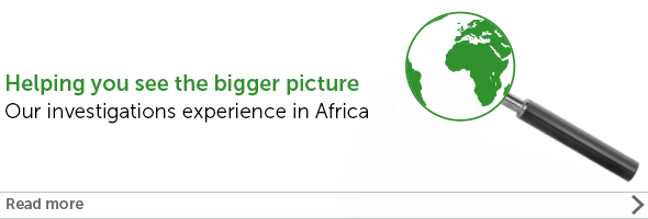 Helping you see the bigger picture: Our Investigations experience in Africa